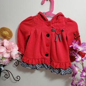 Dress-up Red Jacket
